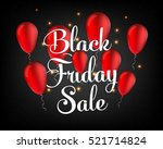 abstract vector black friday... | Shutterstock .eps vector #521714824