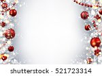 new year gray background with... | Shutterstock .eps vector #521723314