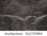 black rock texture background | Shutterstock . vector #521737894