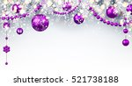 new year gray background with... | Shutterstock .eps vector #521738188