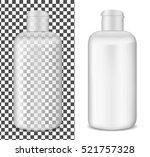 plastic transparent lotion... | Shutterstock .eps vector #521757328