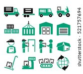 delivery  shipping  logistics...   Shutterstock .eps vector #521757694