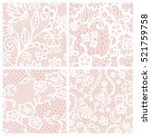 Lace Seamless Patterns With...