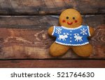 Smiling Christmas Gingerbread...