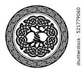 black and white illustration of ... | Shutterstock . vector #521779060