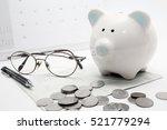 Pig Piggy Bank  Coins  Bank...