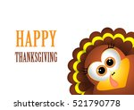 card for thanksgiving day.... | Shutterstock . vector #521790778