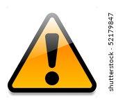 warning sign   Shutterstock .eps vector #52179847