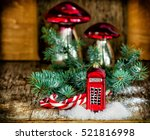 Christmas Baubles Phone Booth ...