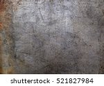 worn metal background | Shutterstock . vector #521827984