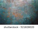 worn metal surface | Shutterstock . vector #521828020