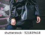 perfect fall outfit details....   Shutterstock . vector #521839618