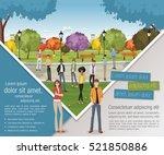 template for advertising...   Shutterstock .eps vector #521850886
