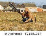 Man With Metal Detector
