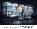 high technologies for your... | Shutterstock . vector #521858458