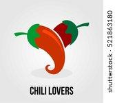 Love Chili Logo Company Food...