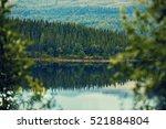 Rocky Shore Of Mountain Lake I...