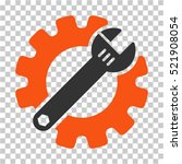 service tools icon. vector... | Shutterstock .eps vector #521908054