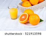 delicious oranges  very good... | Shutterstock . vector #521913598