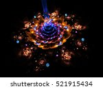 Abstract Colorful Blue And...