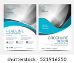 Brochure Layout design template, Annual report Leaflet Flyer template | Shutterstock vector #521916250