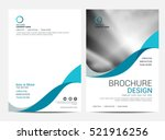 brochure layout template  cover ...
