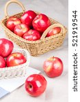 fresh apples  very good fruit... | Shutterstock . vector #521919544
