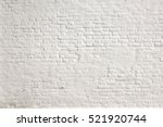 Vintage Brick Wall With White...