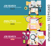 concept of job searching... | Shutterstock .eps vector #521941660