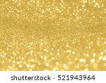 abstract background gold bokeh | Shutterstock . vector #521943964