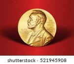 nobel prize. the award of the... | Shutterstock . vector #521945908