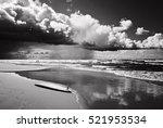 majestic cloudscape  coastline... | Shutterstock . vector #521953534