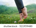 Beautiful Barefoot Girl's Legs...