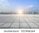 panoramic skyline and buildings ... | Shutterstock . vector #521966164