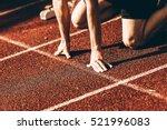 hands on starting line | Shutterstock . vector #521996083