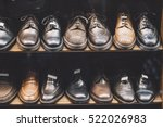 men shoes in a luxury store | Shutterstock . vector #522026983