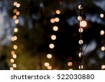 lamp with blurred bokeh light... | Shutterstock . vector #522030880