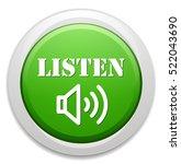 listen icon | Shutterstock .eps vector #522043690
