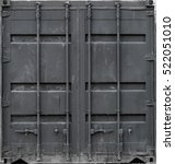 Gray Metal Shipping Container...