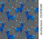 christmas deer stylized...