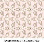 abstract geometric seamless... | Shutterstock .eps vector #522060769