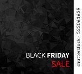 black friday sale design... | Shutterstock .eps vector #522061639