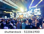 crowd  in front of concert... | Shutterstock . vector #522061900