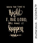 when the time is right  i the...   Shutterstock .eps vector #522069679