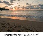 Sunset At The Nai Yang Beach...