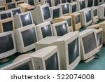 old crt monitor | Shutterstock . vector #522074008