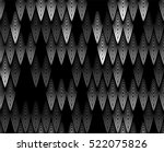 vector feather pattern.... | Shutterstock .eps vector #522075826