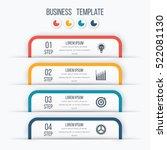 modern infographics options... | Shutterstock .eps vector #522081130