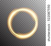vector shining twisted glitter... | Shutterstock .eps vector #522087550