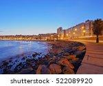 Uruguay  Montevideo  Twilight...